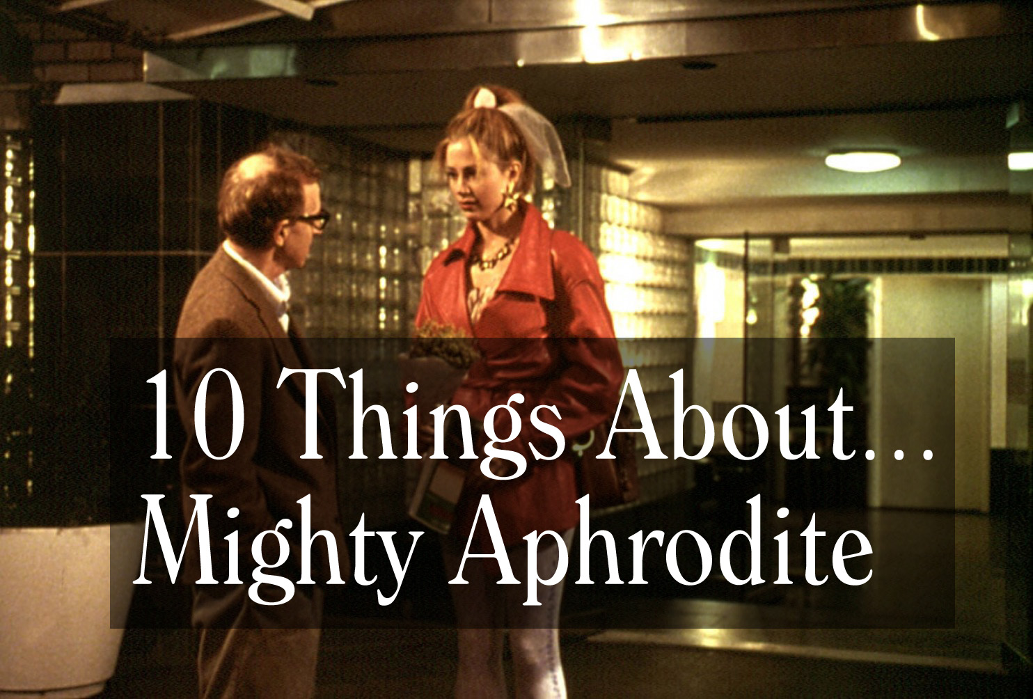 Helena Bonham Carter News Stories  The Woody Allen Pages Our Latest Video Essay Looks At S Mighty Aphrodite Its A Quiet  Little Gem With A Sweet Story And One Powerhouse Performance English Essay Example also Essay Topics For Research Paper  Essay In English Language