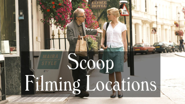 Scoop Filming Locations - London, Oxfordshire - The Woody Allen Pages