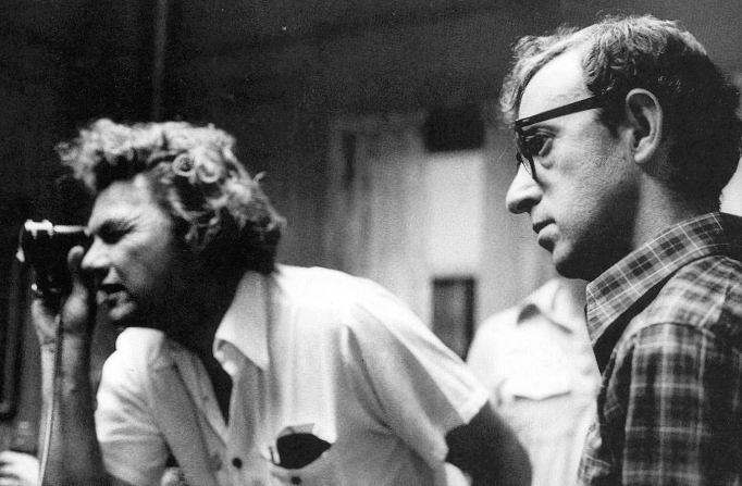 Gordon Willis and Woody Allen